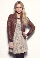 Womens Brown Leather Jackets