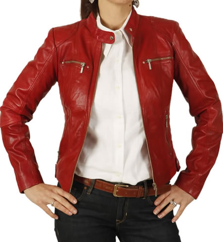 Red Leather Jackets Photo Album - Reikian
