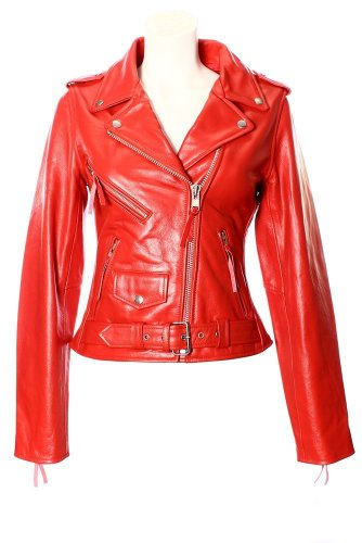 Womens Red Jean Jacket