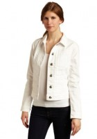 Womens White Denim Jacket