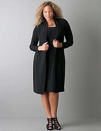 Plus Size Black Dress Jackets – Little Black Dress | Black Lace ...